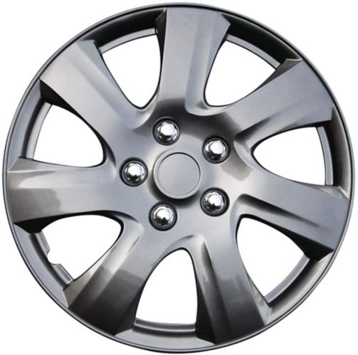 AutoTrends Wheel Cover, 1021, Gunmetal, 14-in, 4-pk Product image