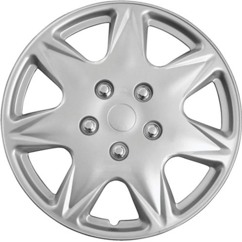 AutoTrends Wheel Cover, 915, Silver/Lacquer, 16-in, 4-pk Product image
