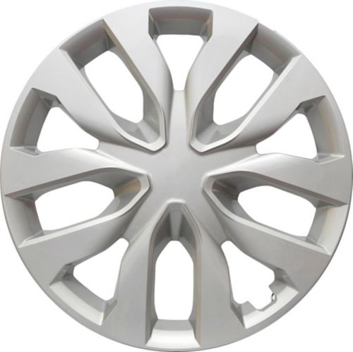 AutoTrends Shaft Wheel Cover, Silver, 17-in, 4-pk Product image