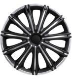 Enjoliveur de roue DriveStyle Nero, argent/noir, 17 po, paq. 4 | DriveStylenull