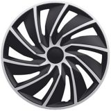 DriveStyle Turbo Wheel Cover, Silver/Black, 18-in, 4-pk | DriveStylenull