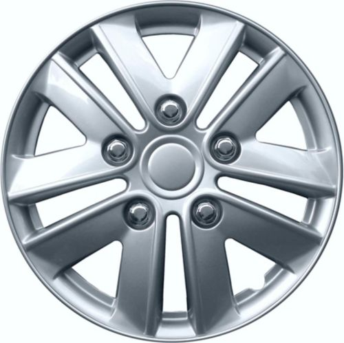 AutoTrends Wheel Cover, 991, Silver/Lacquer, 15-in, 4-pk Product image