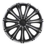DriveStyle Nero Wheel Cover, Silver/Black, 16-in, 4-pk | DriveStylenull