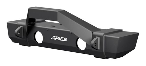 ARIES TrailCrusher Jeep JL Front Bumper with Brush Guard Product image