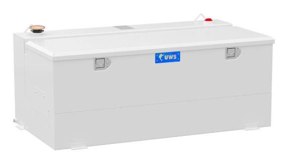UWS Steel-Aluminum Combo Transfer Tank, White, 100-Gallon Product image