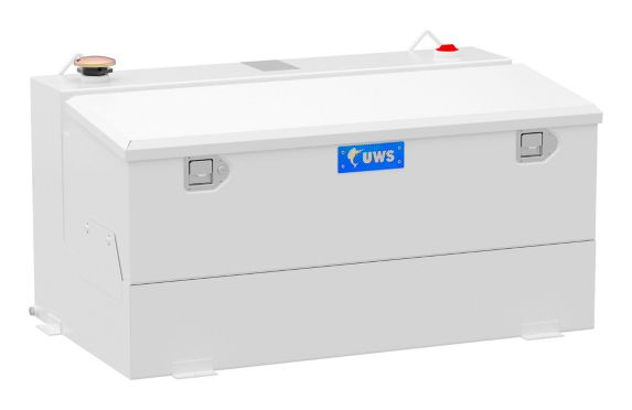 Réservoir de transfert combiné UWS, acier-aluminium, blanc, 75 gal Image de l'article