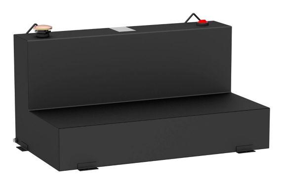 Réservoir de transfert en L UWS, acier, noir mat, 75 gal Image de l'article