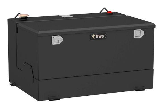 Réservoir de transfert combiné UWS, acier aluminium, noir mat, 85 gal Image de l'article