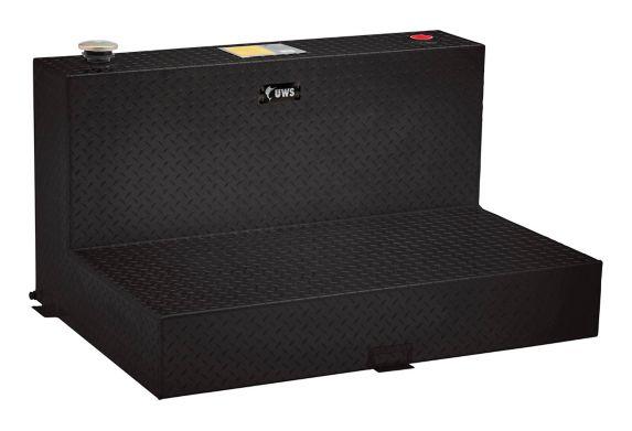 UWS Gloss Black L-Shape Aluminum Transfer Tank, 50-Gallon Product image