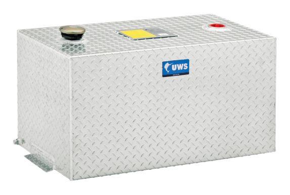 Réservoir de transfert rectangulaire UWS, aluminium brillant, 50 gal Image de l'article