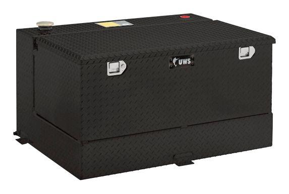 UWS Gloss Black Combo Aluminum Transfer Tank, 85-Gallon Product image