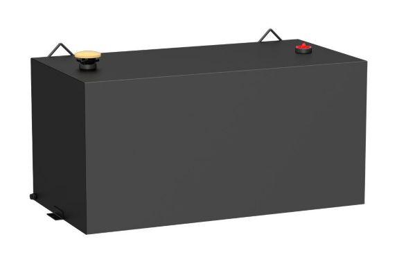 Réservoir de transfert rectangulaire UWS, acier, noir mat, 100 gal Image de l'article