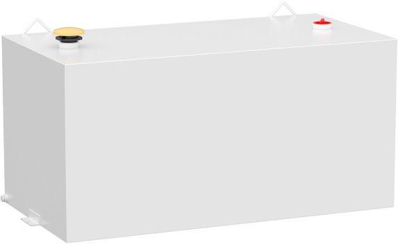 Réservoir de transfert rectangulaire UWS, acier, blanc, 100 gal Image de l'article