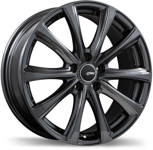 CRW GT2 Alloy Wheel, Gunmetal Product image