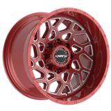 KRANK Ambush Alloy Wheel, Red Clear | Kranknull