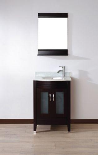 Meuble-lavabo Urban Bathe Alba, 24 po, variés Image de l'article