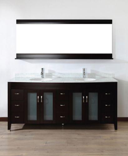 Urban Bathe Alba Bathroom Vanity, 75-in Product image