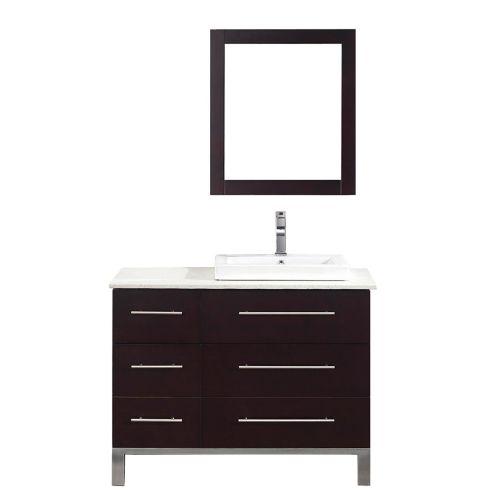 Meuble-lavabo Art Bathe Ginza, droit, 42 po Image de l'article