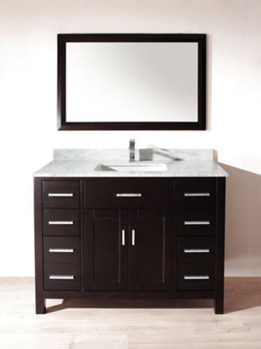 Meuble-lavabo Studio Bathe Chloe, 48 po Image de l'article