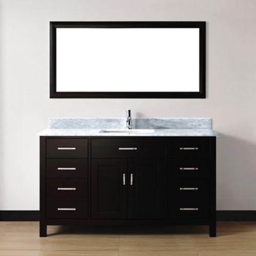 Meuble-lavabo Studio Bathe Chloe, 60 po Image de l'article