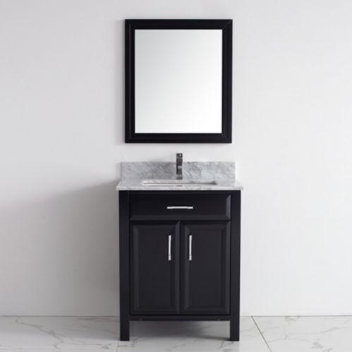 Meuble-lavabo Studio Bathe Callan, 28 po, variés Image de l'article