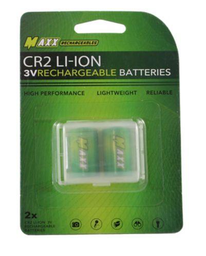 Piles au lithium-ion 3V Golf Buddy CR2, paq. 2 Image de l'article