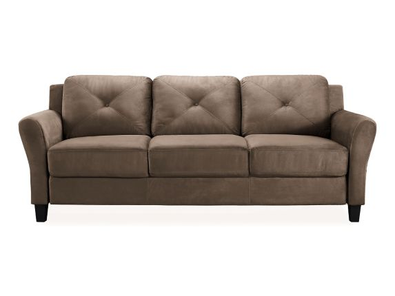 Hartford Rolled Arm Sofa, Brown Product image
