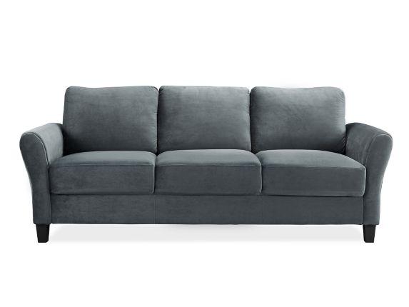 Westin Rolled Arm Sofa, Dark Grey Product image