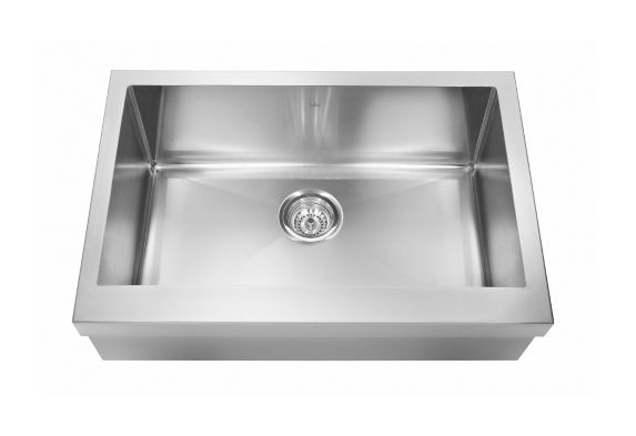 Kindred Designer Farmhouse Apron Style Single Sink, 29 7/8-in Product image