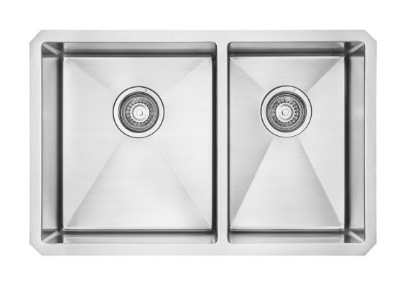 Kindred Designer Kitchen Undermount Double Sink, 29-in Product image
