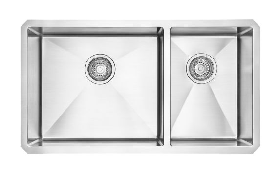 Kindred Designer Kitchen Undermount Double Sink, 31-in Product image