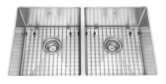 Kindred Designer Kitchen Undermount Double Sink, 35-in Product image
