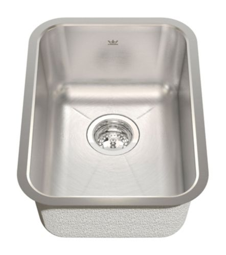 Kindred Radiant Silk Kitchen Undermount Single Sink, 13 3/4-in Product image