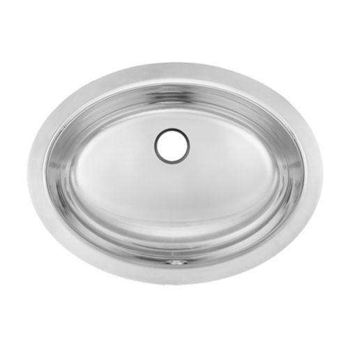 Évier ovale sous comptoir pour salle de bain Kindred, 16 1/4 po Image de l'article