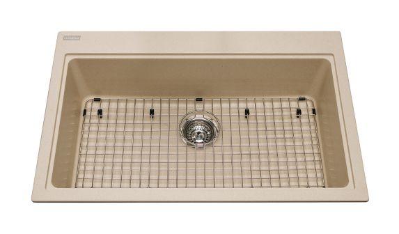 Kindred Mythos Kitchen Granite Top Mount Single Sink Product image