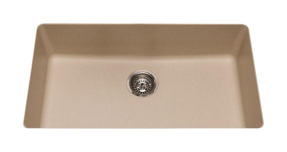 Kindred Mythos Kitchen Granite Undermount Single Sink, 31 9/16-in Product image