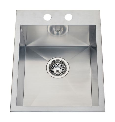 Kindred Steel Queen Kitchen Dual Mount Single Sink, 6 1/8-in Product image