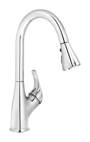 Kindred Traditional Gooseneck Pull Down Spray Faucet Product image