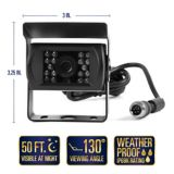 Caméra de recul, 2 caméras avec trousse de branchement rapide   Rear View Safetynull