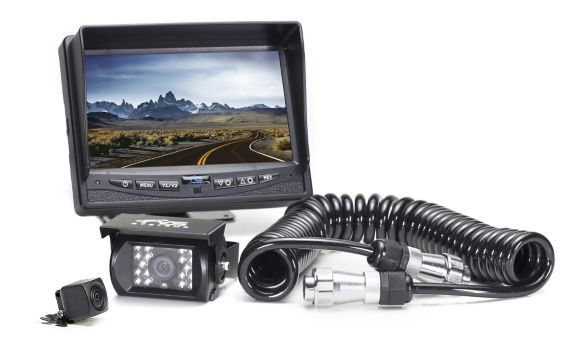 Backup Camera System Two Camera Setup with Quick Connect Kit Product image