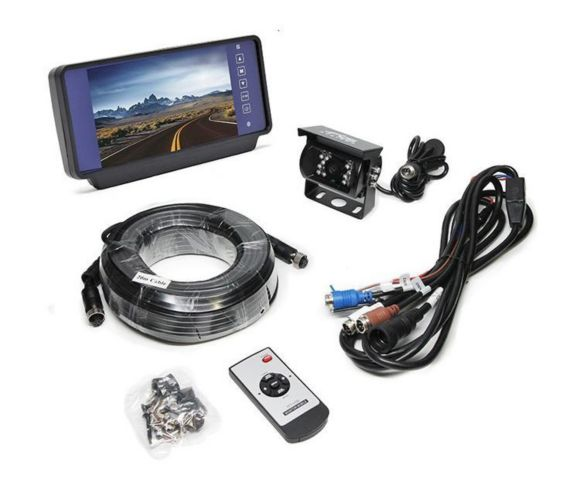Backup Camera System with Replacement Mirror Monitor Product image