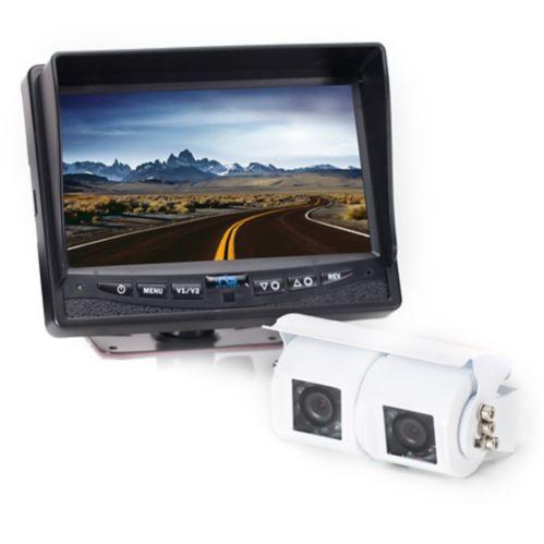Caméra de recul avec caméra double à lentille Image de l'article