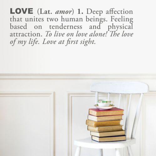 Décalcomanie de la définition de l'amour Adzif Image de l'article