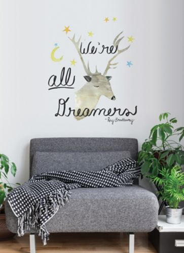 Adzif We're All Dreamers Wall Decal Product image
