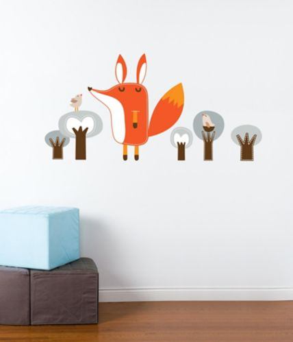 Adzif Kid's Paolo the Fox Wall Decal Product image