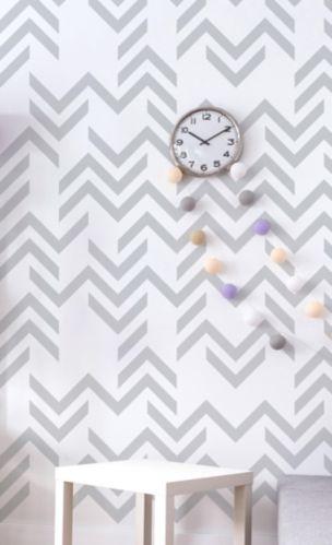 Décalcomanie motif boisé gris Adzif Image de l'article