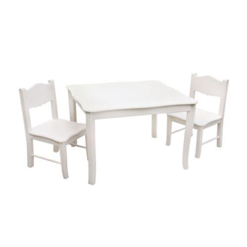 Table avec chaises classiques Guidecraft, blanc Image de l'article