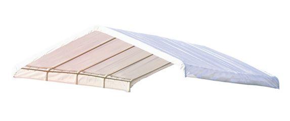 Toile d'abri de rechange ShelterLogic Super Max, blanc, 12 x 26 pi Image de l'article