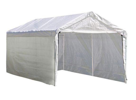 Trousse de paroi pour abri Shelter Logic, blanc, 12 x 20pi Image de l'article