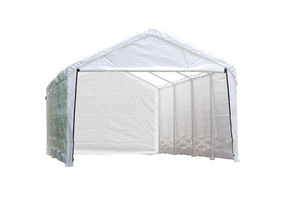 Abri à enceinte Shelterlogic, blanc, 10 x 30 pi Image de l'article